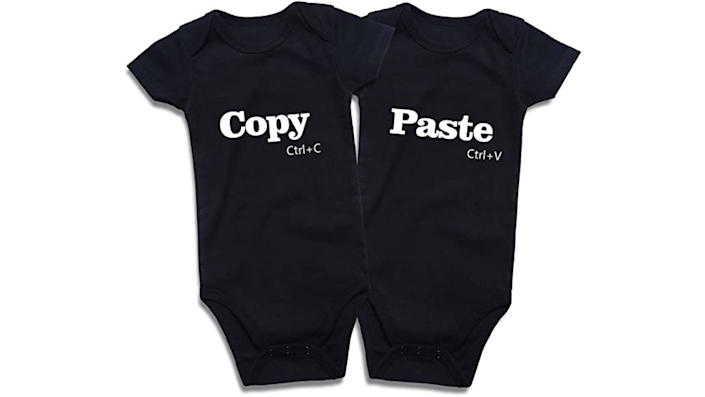 Sibling Halloween costumes: Copy and paste