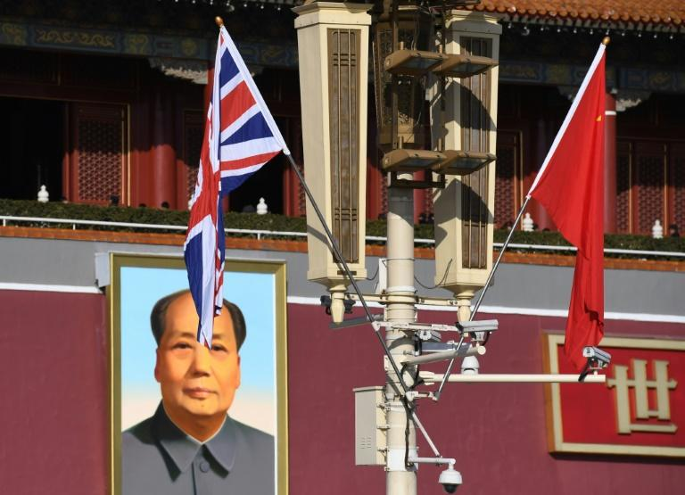 The British embassy in Beijing has confirmed the arrest of four Britons in China's Jiangsu province