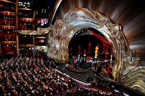 Green Book, jointly produced by Alibaba Pictures, won Best Picture, Best Original Screenplay and Best Supporting Actor at the 91st Academy Awards in Los Angeles on February 24, 2019. Photo: Reuters