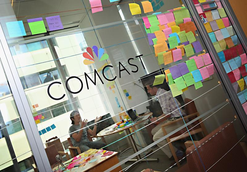 Comcast shares fall after downgrade on slowing broadband growth fear, streaming competition