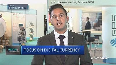 CNBC's Arjun Kharpal speaks to the likes of 10x CEO Antony Jenkins and Crypto Valley Association President Oliver Bussmann at Money 20/20 about cryptocurrencies.