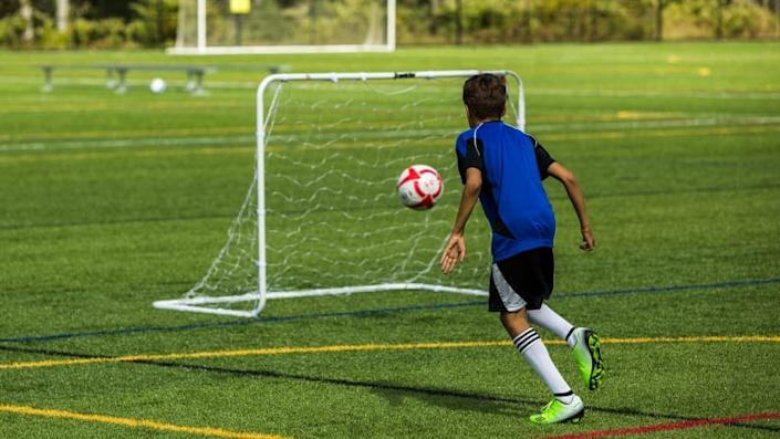 Turn any yard into a soccer field with these nets.