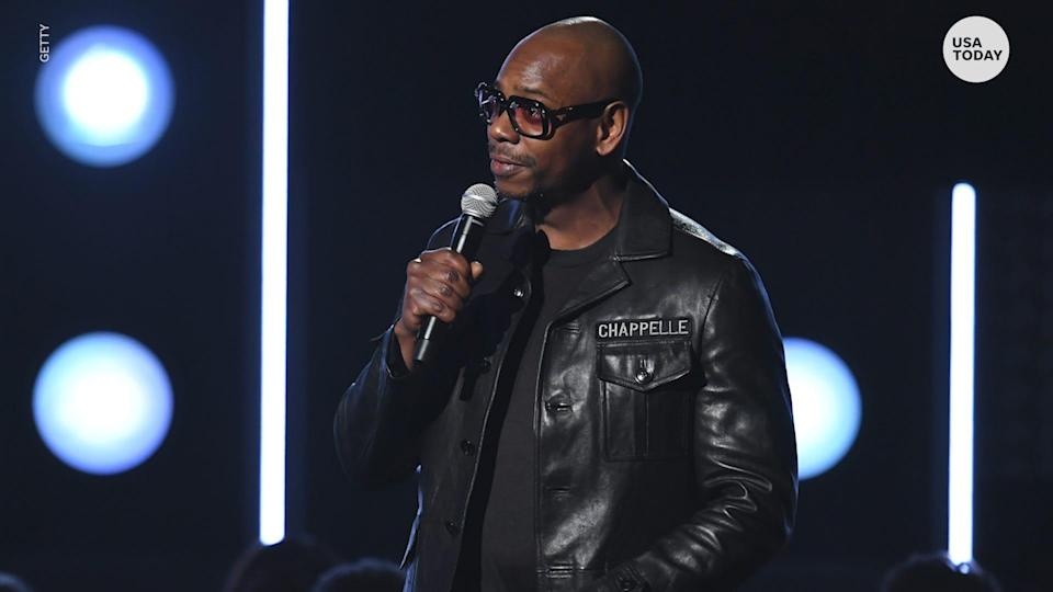 """Comedian Dave Chappelle announces """"Chappelle's Show"""" will return to Netflix after making a deal with Comedy Central."""