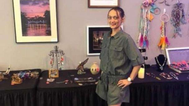 PHOTO: Wendy Reynolds is seen here at one of her art shows. (Wendy Reynolds)