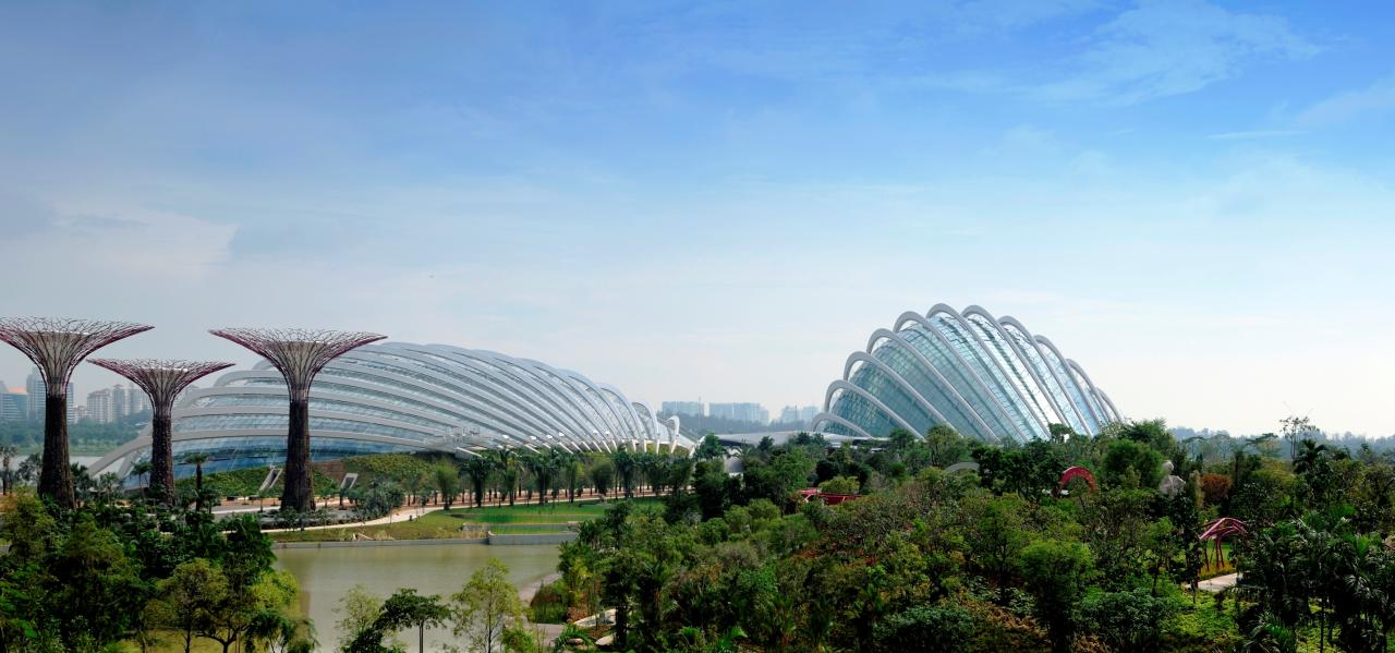 Bay South Garden (Photo: Gardens by the Bay)