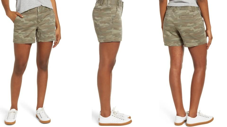Caslon's Cotton Twill Shorts are our top Nordstrom sale pick of the week — shop them for $29 (originally $49)
