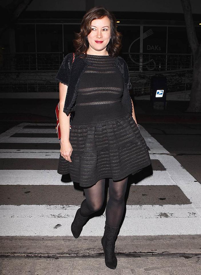"""Do you think Michelle chatted it up with her """"The Fabulous Baker Boys"""" co-star Jennifer Tilly? Epa-Maciel/<a href=""""http://www.x17online.com"""" target=""""new"""">X17 Online</a> - October 1, 2010"""