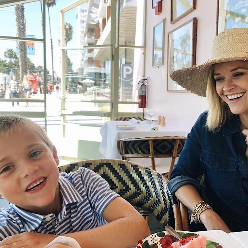 Reese Witherspoon's Son May Have Just Turned 7, but I Swear They're Twins