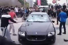 Trend or Stunt? Maserati Smashed in China...Again