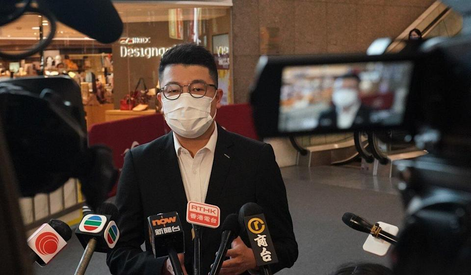There are suggestions lawmaker Edward Lau Kwok-fun might return to Legco. Photo: Felix Wong