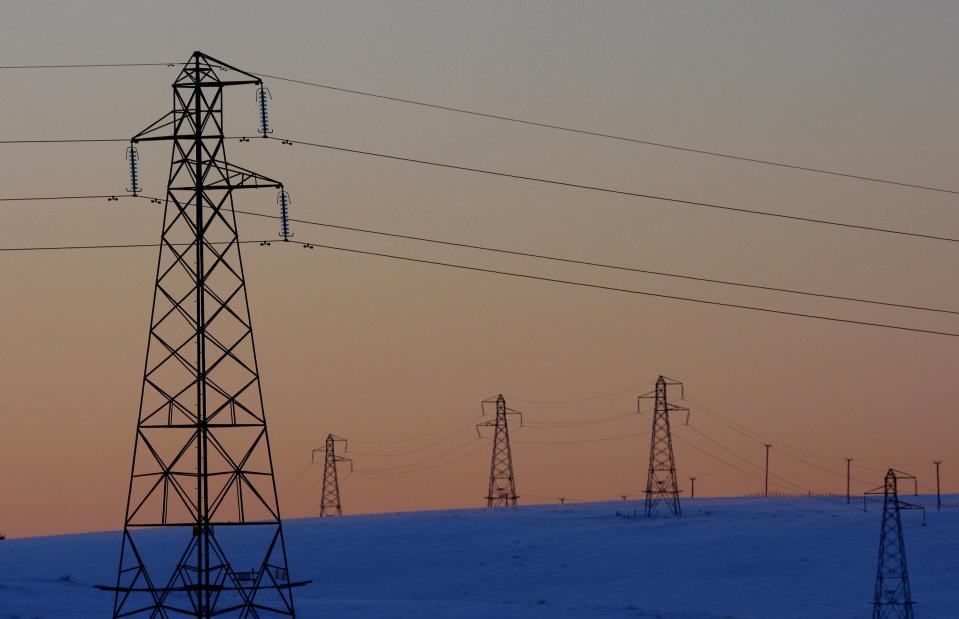 The move will mean that the proportion of the National Grid's assets in electricity will increase from around 60% to about 70%. Photo: David Moir/Reuters