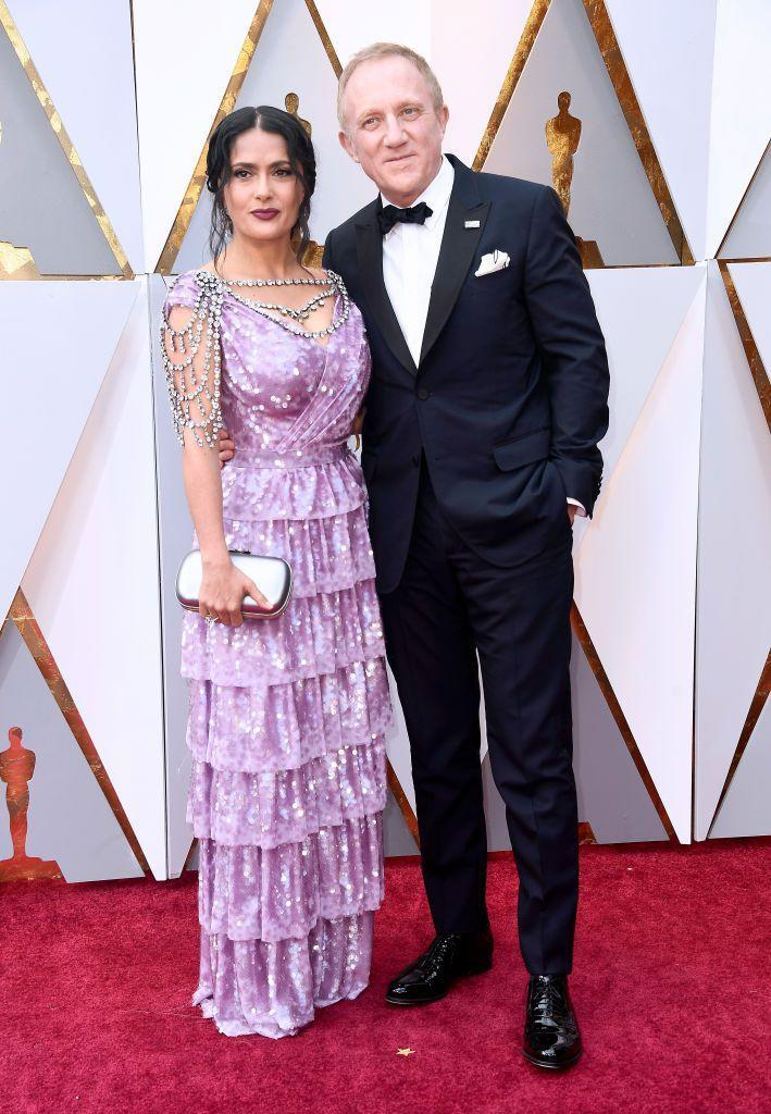 """<p>The Oscar-nominated actor and Kering CEO welcomed their daughter, Valentina together in 2007 and married two years later in 2009.</p><p>In February 2021, Hayek opened up about her marriage while appearing on Dax Shepard's podcast Armchair Expert, explaining how she responds when people have made unwarranted assumptions and accusations about her relationship.</p><p>'When I married him, everybody said, """"it's an arranged marriage, she's marrying him for the money"""". I'm like, """"yeah whatever b*tch, think what you want"""". Fifteen years together and we are strong in love and I don't even get offended.'</p>"""