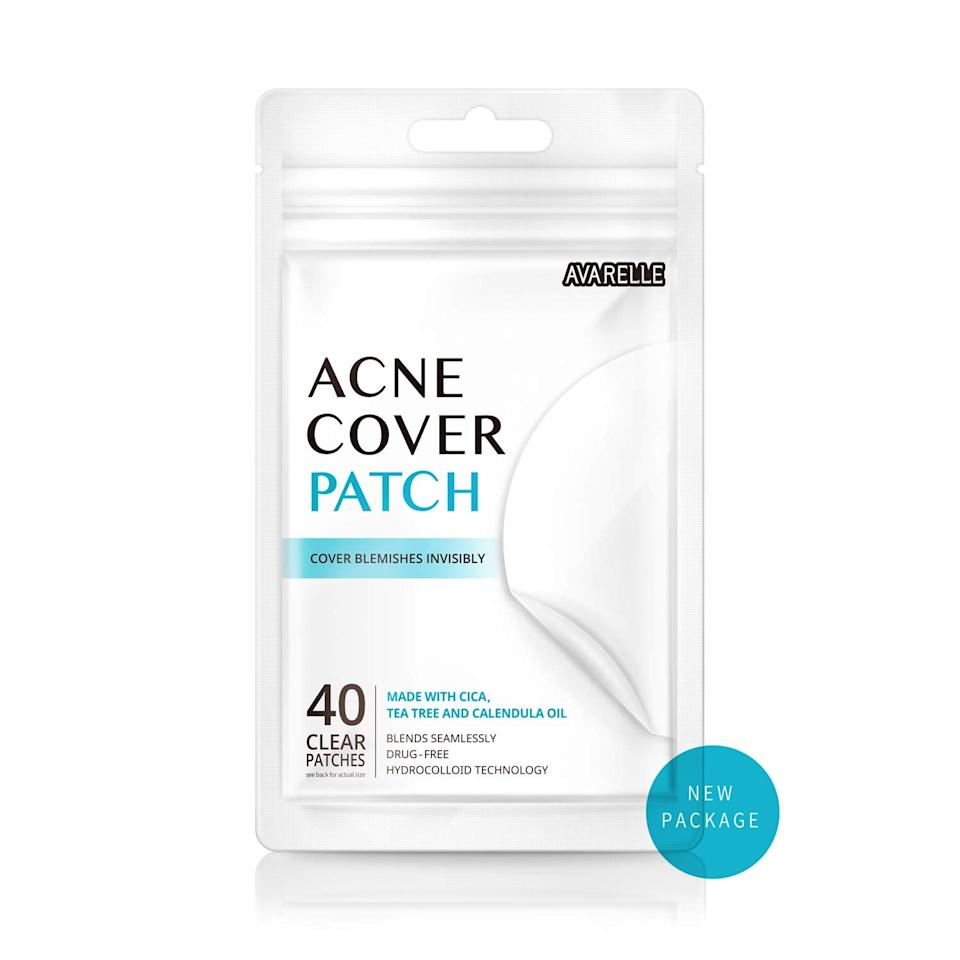 """<p>If you look at the Amazon bestsellers list, this <a href=""""https://www.popsugar.com/buy/Avarelle-Acne-Cover-Patch-Set-452723?p_name=Avarelle%20Acne%20Cover%20Patch%20Set&retailer=amazon.com&pid=452723&price=8&evar1=bella%3Aus&evar9=46211171&evar98=https%3A%2F%2Fwww.popsugar.com%2Fphoto-gallery%2F46211171%2Fimage%2F46211393%2FAvarelle-Acne-Cover-Patch&list1=shopping%2Camazon%2Cbeauty%20products%2Cacne%2Cbeauty%20shopping%2Cskin%20care%2Czit%20happens&prop13=api&pdata=1"""" rel=""""nofollow"""" data-shoppable-link=""""1"""" target=""""_blank"""" class=""""ga-track"""" data-ga-category=""""Related"""" data-ga-label=""""https://www.amazon.com/Avarelle-Cover-Patch-Hydrocolloid-Calendula/dp/B075QNC39Q/"""" data-ga-action=""""In-Line Links"""">Avarelle Acne Cover Patch Set</a> ($8 for 40) is always at the top. Customers claim these little patches truly work overnight to banish all sorts of zits.</p> <p>""""I've tried so many brands of pimple spots, and these are hands-down the best on the market"""" a reviewer said. """"I'm a performer at Walt Disney World, and a clear complexion is required. Last night, I put these on a few acne problems (a small cyst, a Whitehead, and a pimple I shouldn't have picked and has been a bump for about three weeks now.) I just woke up and am writing this review in disbelief. THEY'RE FLAT! Gone! All of them! I could cry I'm so happy. The packaging is also ideal because it allows you to conveniently and easily peel the stickers off without stretching them out or folding them back on themselves. Do yourself, and your complexion, huge favor! Have these on hand for a stubborn zit when you really need help. Make sure you apply them to completely clean and dry skin.""""</p>"""