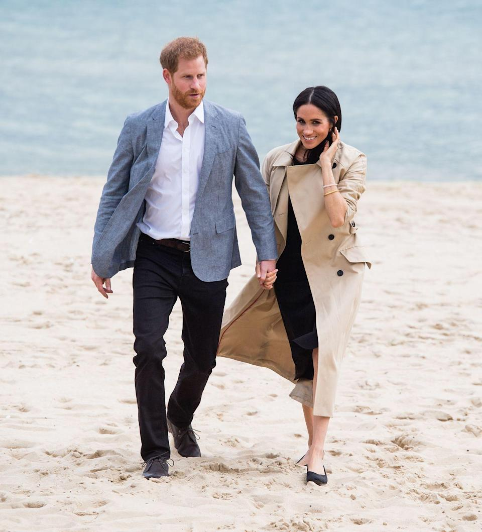 <p>Beaches were aplenty on Meghan and Harry's royal tour of Australia, and even in colder weather the couple made their way to the shores of Melbourne in formal-yet-still-beach-appropriate attire. <br></p>