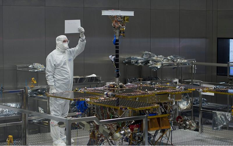 Engineers at Airbus testing the new
