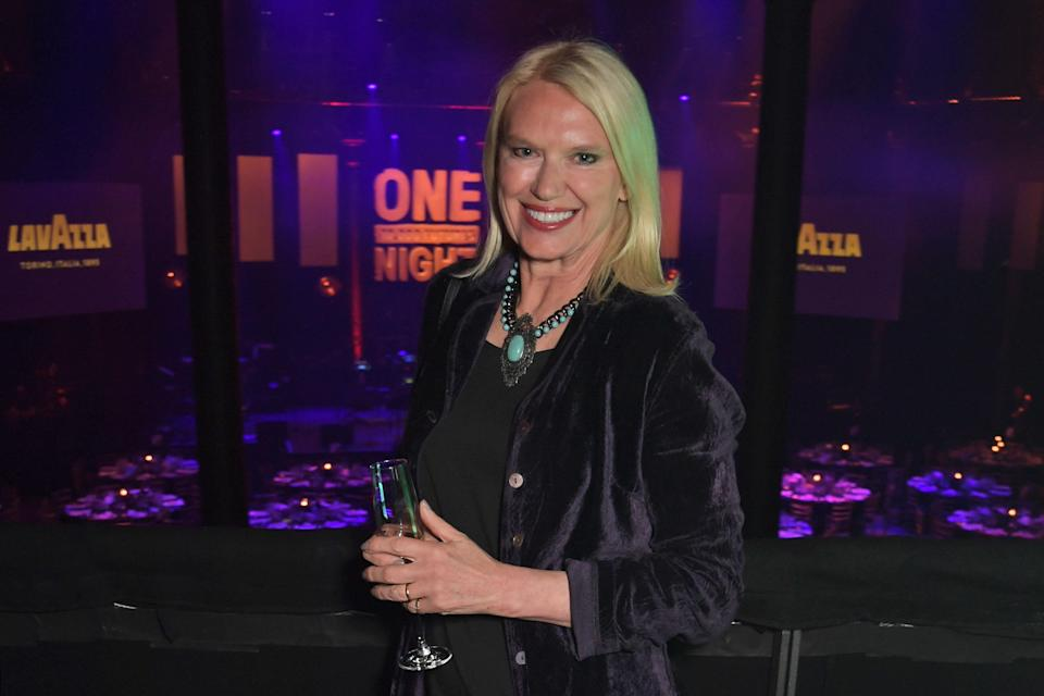 Anneka Rice attends the Roundhouse Gala, an evening raising money for the venue's charitable work with young people, at The Roundhouse on March 14, 2019. (Photo by David M. Benett/Dave Benett/Getty Images for The Roundhouse)
