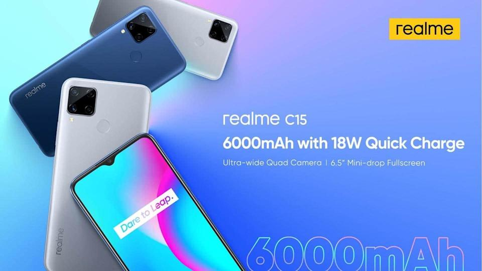Realme to launch a Qualcomm Edition of C15 smartphone