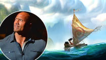 """""""The Rock's crying! Oh, that's funny!"""" <strong> Dwayne Johnson</strong> wiped away tears as he chuckled onstage at the D23 Expo in Anaheim on Friday. Disney had just debuted a clip from his upcoming animated movie <em>Moana</em>, in which he voices a Polynesian demigod named Maui, and he was clearly touched. """"If you don't get emotional over that...,"""" he trailed off. Johnson, who got a <em>very</em> enthusiastic standing ovation when he took the stage, explained, """"When I first got into this business, I had a goal: to be in the Disney family...I am proudly half Samoan, half black. This is in my blood. To tell a story inspired by the South Pacific is truly a great honor."""" <strong> WATCH: Check Out All 15 Pixar Movies, Ranked From Worst to Best</strong> Here's all the scoop we learned during the Pixar and Disney Animation Panel: Disney/Pixar <strong><em> Moana</em>:</strong> Johnson plays Maui, a shapeshifter with animated tattoos. Moana also has a pig, Pua, as a sidekick and a cranky chicken named Hei Hei. The villain of the movie is a lava monster and we got to see some early footage of her that looked insanely cool. (And SCARY!) The music is being done by South Pacific musician <strong>Opetaia Foa'i</strong>, composer <strong>Mark Mancina</strong>, and songwriter <strong> Lin-Manel Miranda</strong>, of Broadway's hit <em>Hamilton</em>. Disney/Pixar <strong><em> Zootopia</em>:</strong> <strong>Ginnifer Goodwin</strong> plays Judy Hopps, a bunny traffic cop who has 48 hours to solve a missing otter case with the help of a sly fox voiced by <strong>Jason Bateman</strong>. Early clips look heavy on the hilarity and adorableness -- Bateman's character has a 4-year-old baby fox who thinks he's an elephant! We also heard a snippet of an original song called """"Try Everything"""" that <strong>Shakira</strong> recorded for the movie. FYI, she plays a gazelle. Disney/Pixar <strong><em> Gigantic</em>:</strong> A new film Disney announced and is calling """"the definitive version"""" of Ja"""