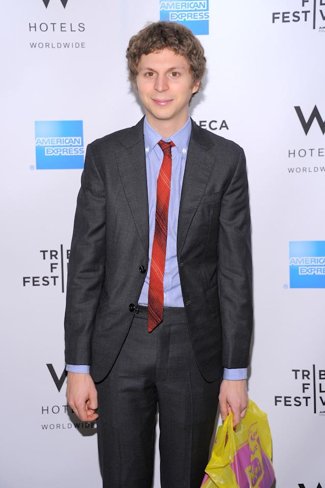 NEW YORK, NY - APRIL 28:  Actor Michael Cera attends the Tribeca Film Festival Awards hosted by the W Hotel Union Square at The W Hotel Union Square on April 28, 2011 in New York City.  (Photo by Mike Coppola/Getty Images for Tribeca Film Festival)