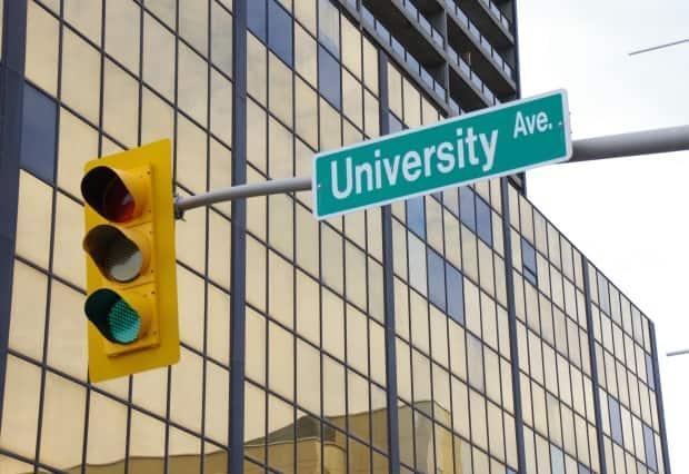 University Avenue in downtown Windsor is part of the assessment that explores ways of reconfiguring a 3.5-kilometre stretch of the area.   (Geoff Nixon/CBC - image credit)