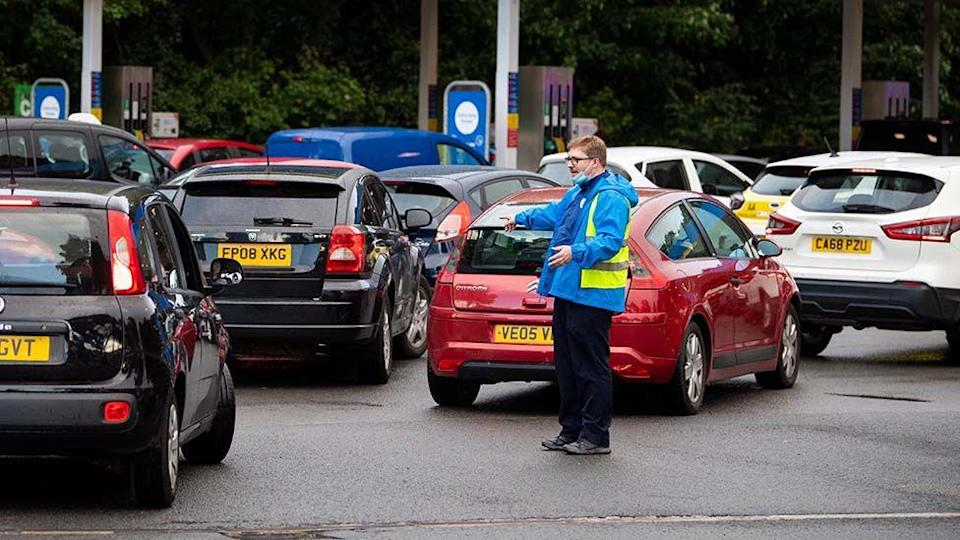 Why is there a shortage of fuel in the UK?