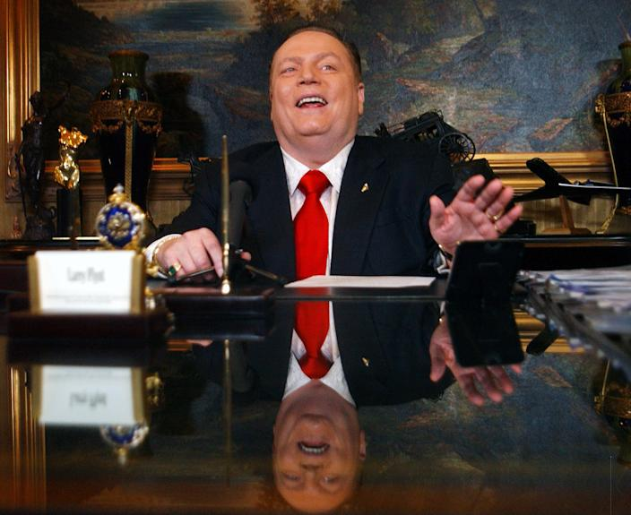 Image: Larry Flynt in 2001 (Steve Grayson / WireImage file)