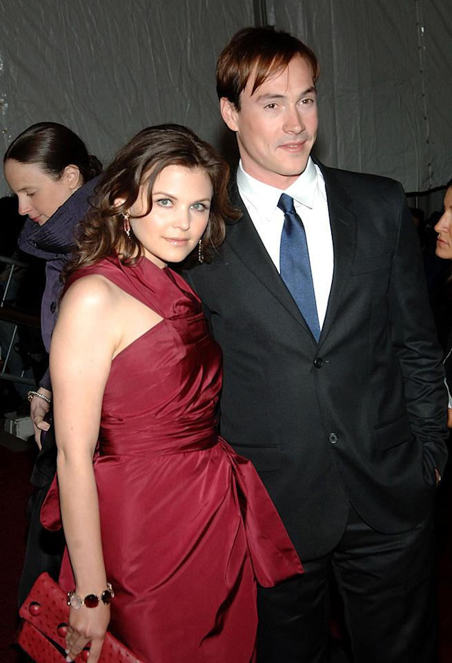 """Big Love's"" Ginnifer Goodwin and Chris Klein ended their two-year relationship in December 2008. Jamie McCarthy/<a href=""http://www.wireimage.com"" target=""new"">WireImage.com</a> - May 7, 2007"