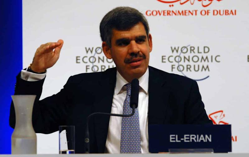 Mohamed El-Erian Bitcoin cryptocurrency Allianz blockchain