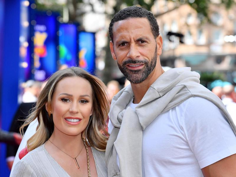 Kate and Rio Ferdinand: Rex Features