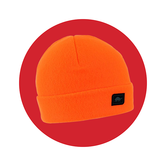 """<p><strong>turtlefur</strong></p><p>turtlefur.com</p><p><strong>$21.99</strong></p><p><a href=""""https://www.turtlefur.com/products/the-original-turtle-fur-fleece-hat?variant=11302228197412"""" rel=""""nofollow noopener"""" target=""""_blank"""" data-ylk=""""slk:BUY IT HERE"""" class=""""link rapid-noclick-resp"""">BUY IT HERE</a></p><p>Keep you noggin nice and cozy during those campfire nights with a classic fleece cap like this. Wear it on the tall side to give your camp looks an edge of style or cuff it for optimal warmth.</p>"""