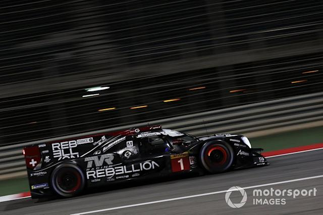 "#1 Rebellion Racing Rebellion R-13 - Gibson: Bruno Senna, Gustavo Menezes, Norman Nato <span class=""copyright"">JEP / Motorsport Images</span>"