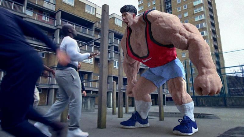 A scene from the advert celebrating London (Nike)
