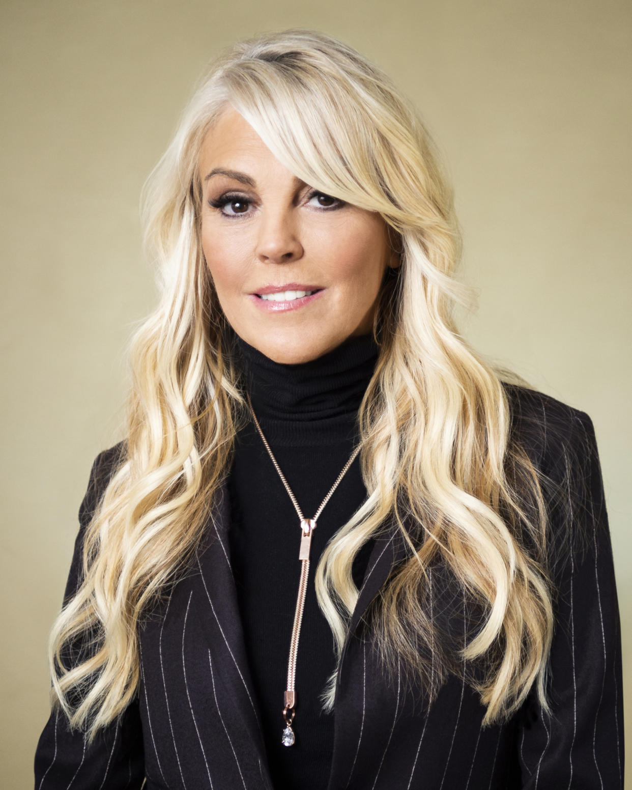 Dina Lohan was arrested Saturday night in Long Island. (Photo: Mary Kouw/CBS via Getty Images)