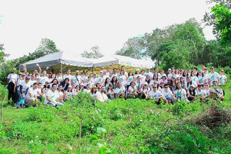 Vivant Group holds tree planting activity
