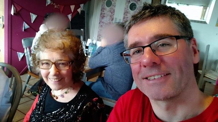 """The last time I saw my mum in real life was at this meal, six days before she had a heart attack on her 50th wedding anniversary"""