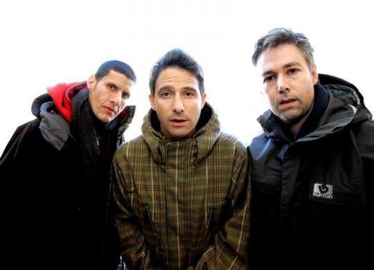 "The Beastie Boys (L-R) Mike Diamond, Adam Horowitz and Adam Yauch are photographed at the 2006 Sundance film festival in Park City, Utah, January 22, 2006. The Beastie Boys' documentary film ""Awesome: I Fuckin' Shot That"" is screening at the festival. REUTERS/Mario Anzuoni"