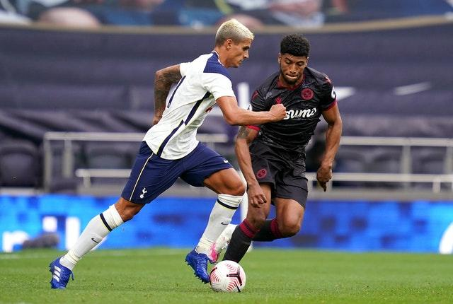 Erik Lamela, left, is one of the players who has been picked ahead of Alli