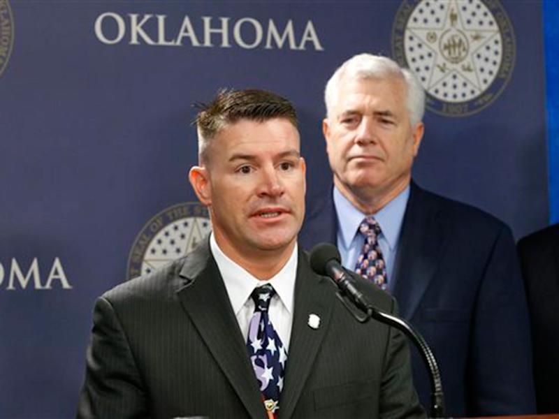 File photo of Oklahoma state Rep. John Bennett, from April 2013: AP