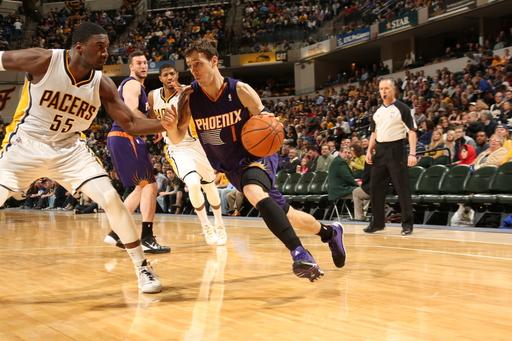 Dragic, Suns hand Pacers 2nd home loss, 102-94