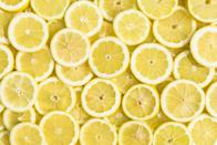 "<p>Lemons are high in vitamin C, folate, potassium, and flavonoids. Flavonoids have been linked to reducing your risk of <a href=""https://www.goodhousekeeping.com/health/diet-nutrition/g1370/foods-that-boost-brain-health/"" rel=""nofollow noopener"" target=""_blank"" data-ylk=""slk:cognitive decline"" class=""link rapid-noclick-resp"">cognitive decline</a> by enhancing circulation and helping to protect brain cells from damage. Lemons add brightness to so many dishes, from savory to <a href=""https://www.goodhousekeeping.com/food-recipes/dessert/g4195/lemon-desserts/"" rel=""nofollow noopener"" target=""_blank"" data-ylk=""slk:sweet"" class=""link rapid-noclick-resp"">sweet</a>. </p>"