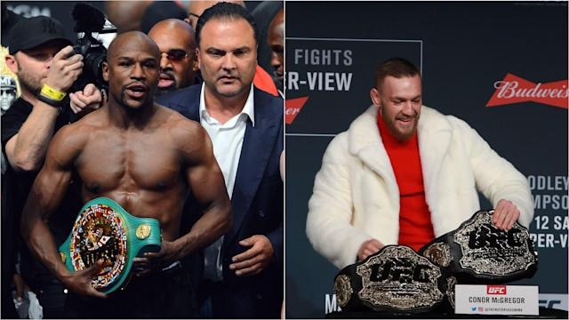 UFC lightweight champion Conor McGregor had stern words for Floyd Mayweather Jr and Paulie Malignaggi as a move to boxing nears fruition.