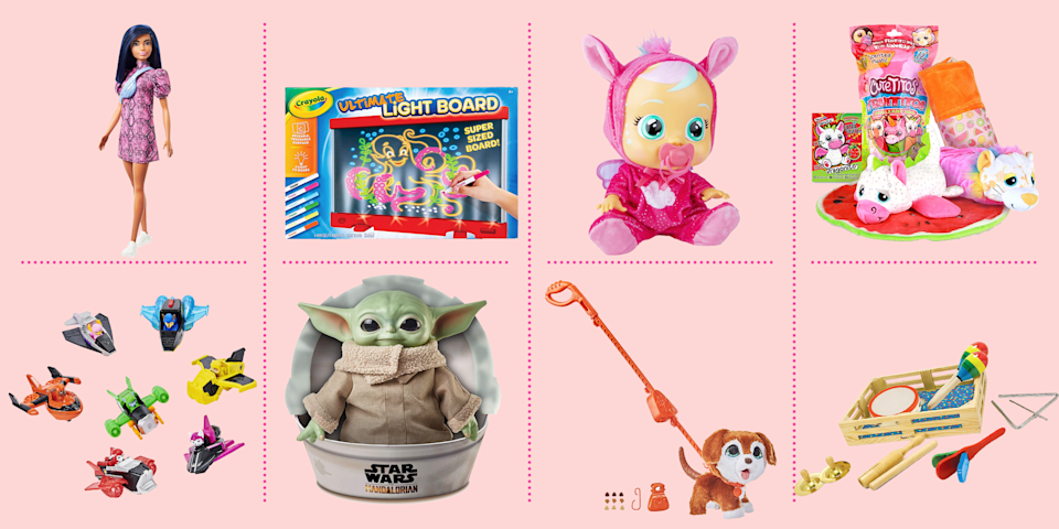 """<p><a href=""""https://www.goodhousekeeping.com/holidays/gift-ideas/g28800511/amazon-holiday-toys-2019/"""" rel=""""nofollow noopener"""" target=""""_blank"""" data-ylk=""""slk:Amazon's top holiday toys list"""" class=""""link rapid-noclick-resp"""">Amazon's top holiday toys list</a> has finally been released! For 2020, Amazon has done something a little different and launched <a href=""""https://www.amazon.com/gcx/Toys-we-love/gfhz/events/?categoryId=toys-we-love&tag=syn-yahoo-20&ascsubtag=%5Bartid%7C10055.g.33609399%5Bsrc%7Cyahoo-us"""" rel=""""nofollow noopener"""" target=""""_blank"""" data-ylk=""""slk:a new list called Toys We Love"""" class=""""link rapid-noclick-resp"""">a new list called Toys We Love</a>, but the concept is the same as years past: you'll find over 100 toys for all ages that the site predicts will be flying off the shelves come December. <br></p><p>This year's selection includes a ton of great toys and gadgets from kid-favorites like <a href=""""https://www.goodhousekeeping.com/childrens-products/toy-reviews/a27665259/recycle-lol-dolls-packaging/"""" rel=""""nofollow noopener"""" target=""""_blank"""" data-ylk=""""slk:L.O.L. Surprise!"""" class=""""link rapid-noclick-resp"""">L.O.L. Surprise!</a>, <a href=""""https://www.goodhousekeeping.com/home/organizing/g26010638/lego-storage-ideas/"""" rel=""""nofollow noopener"""" target=""""_blank"""" data-ylk=""""slk:LEGOs"""" class=""""link rapid-noclick-resp"""">LEGOs</a>, Barbie, and every other toy brand under the sun. To help you find <a href=""""https://www.goodhousekeeping.com/childrens-products/toy-reviews/g31132135/best-new-toys-2020/"""" rel=""""nofollow noopener"""" target=""""_blank"""" data-ylk=""""slk:the very best toys for this holiday season"""" class=""""link rapid-noclick-resp"""">the very best toys for this holiday season</a>, we've rounded up over 20 must-see items <em>— </em><strong>all of which are under $30</strong>. Take a look, but act fast if you see something you want to grab, we have a feeling a lot of these best-selling dolls, games, puzzles, and stuffed animals will sellout fast.</p><p>Want more <a href=""""https://www.go"""