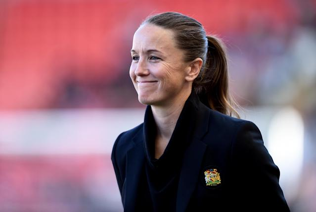 The former England international oversaw promotion during her first season in charge, with United now establishing themselves in the WSL