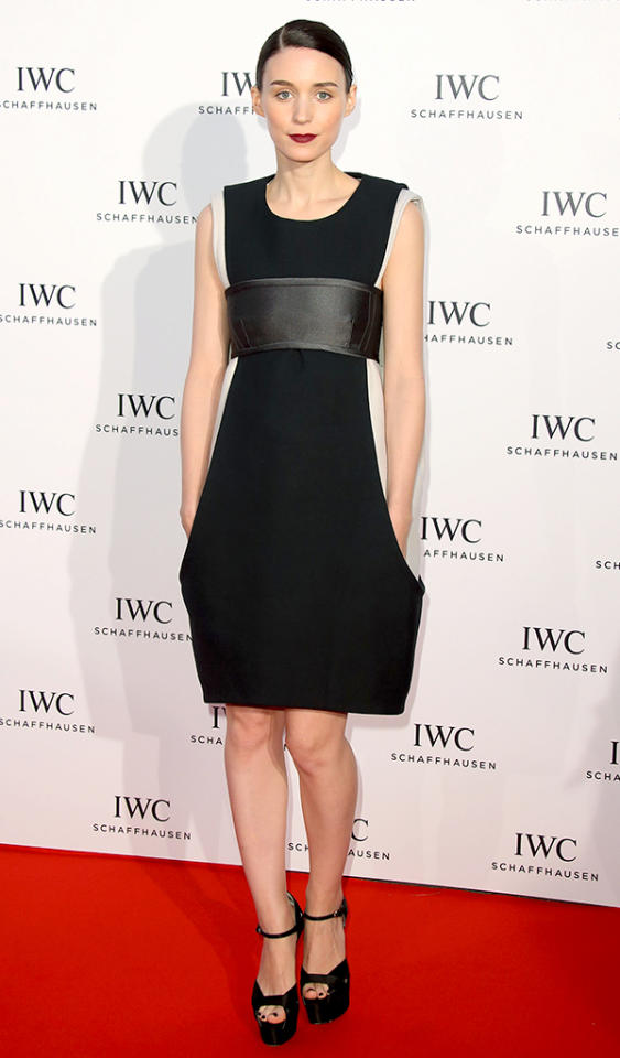 CANNES, FRANCE - MAY 19:  Rooney Mara attends the IWC FilmMakers dinner during The 66th Annual Cannes Film Festival on May 19, 2013 in Cannes, France.  (Photo by Mike Marsland/WireImage)