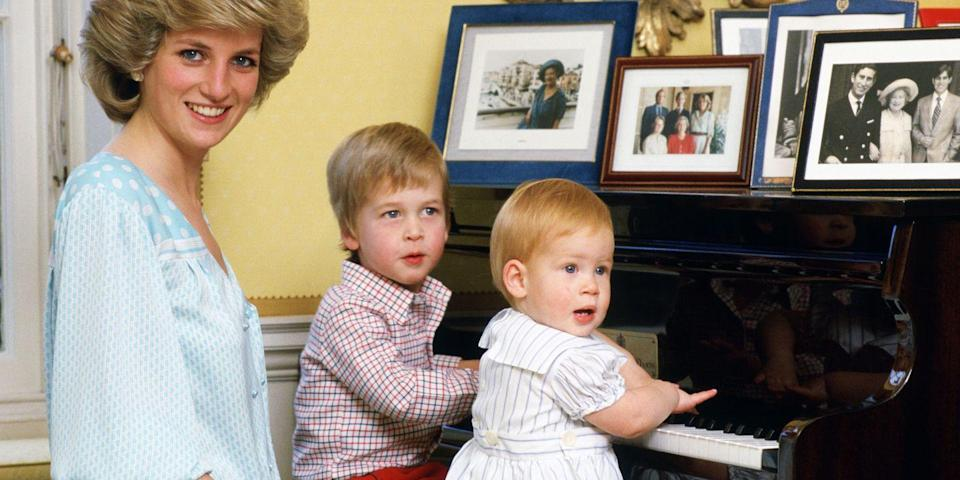 Princess Diana Banned William and Harry's Nanny From Ever Contacting Them