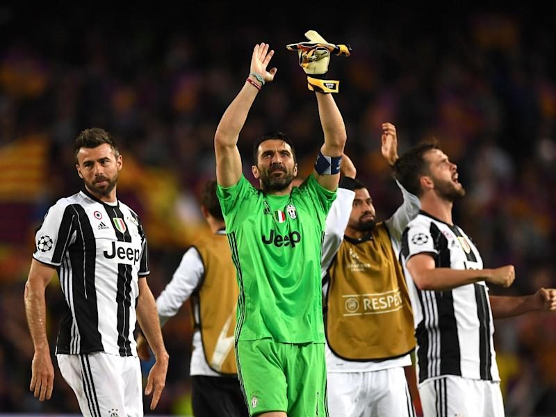 Buffon has played a crucial role at the heart of Juventus' defence: Getty