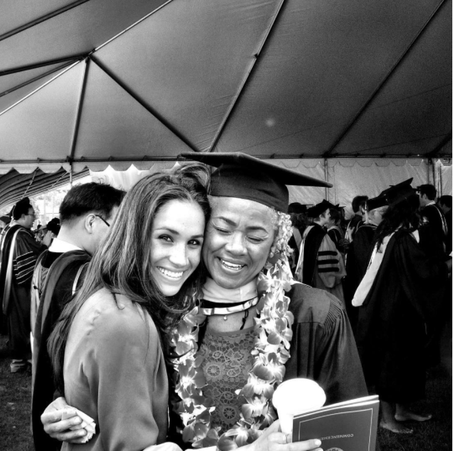 She posted this picture last year, at her mum's graduation. Photo: Instagram
