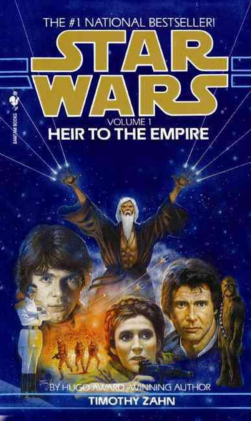 <em>Heir to the Empire</em> (Image: Bantam Books)