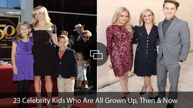 Reese Witherspoon and kids