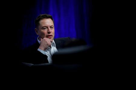 FILE PHOTO: Tesla Motors CEO Musk speaks during the National Governors Association Summer Meeting in Providence